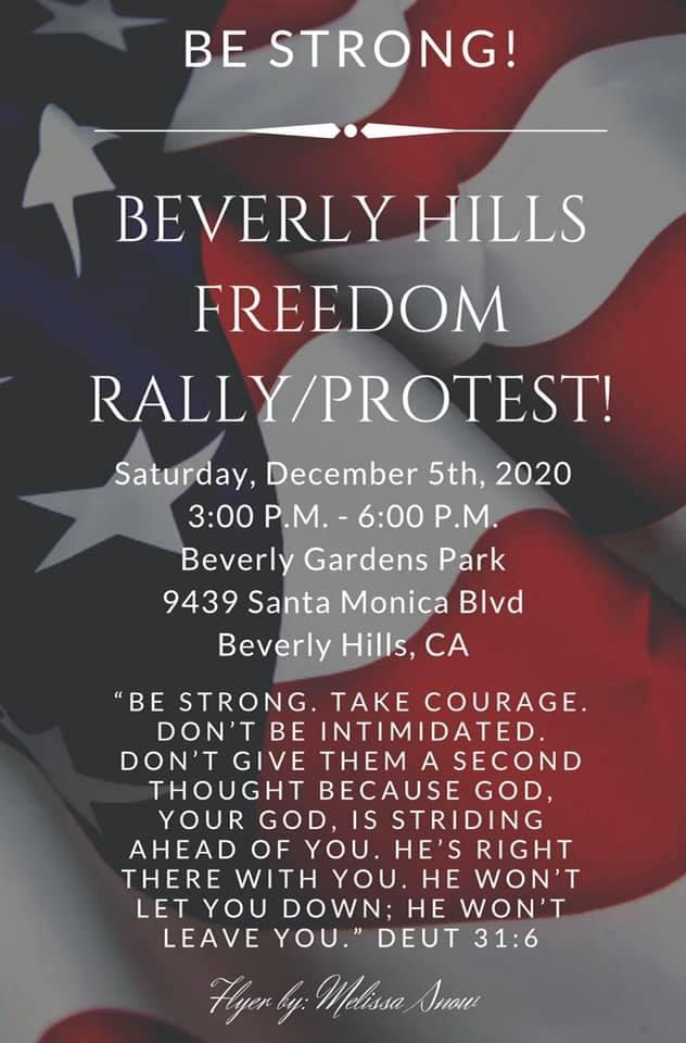 BEVERLY HILLS FREEDOM RALLY